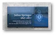 Julius Springer_bookstore ? Springer