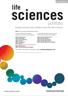 Life science journals brochure