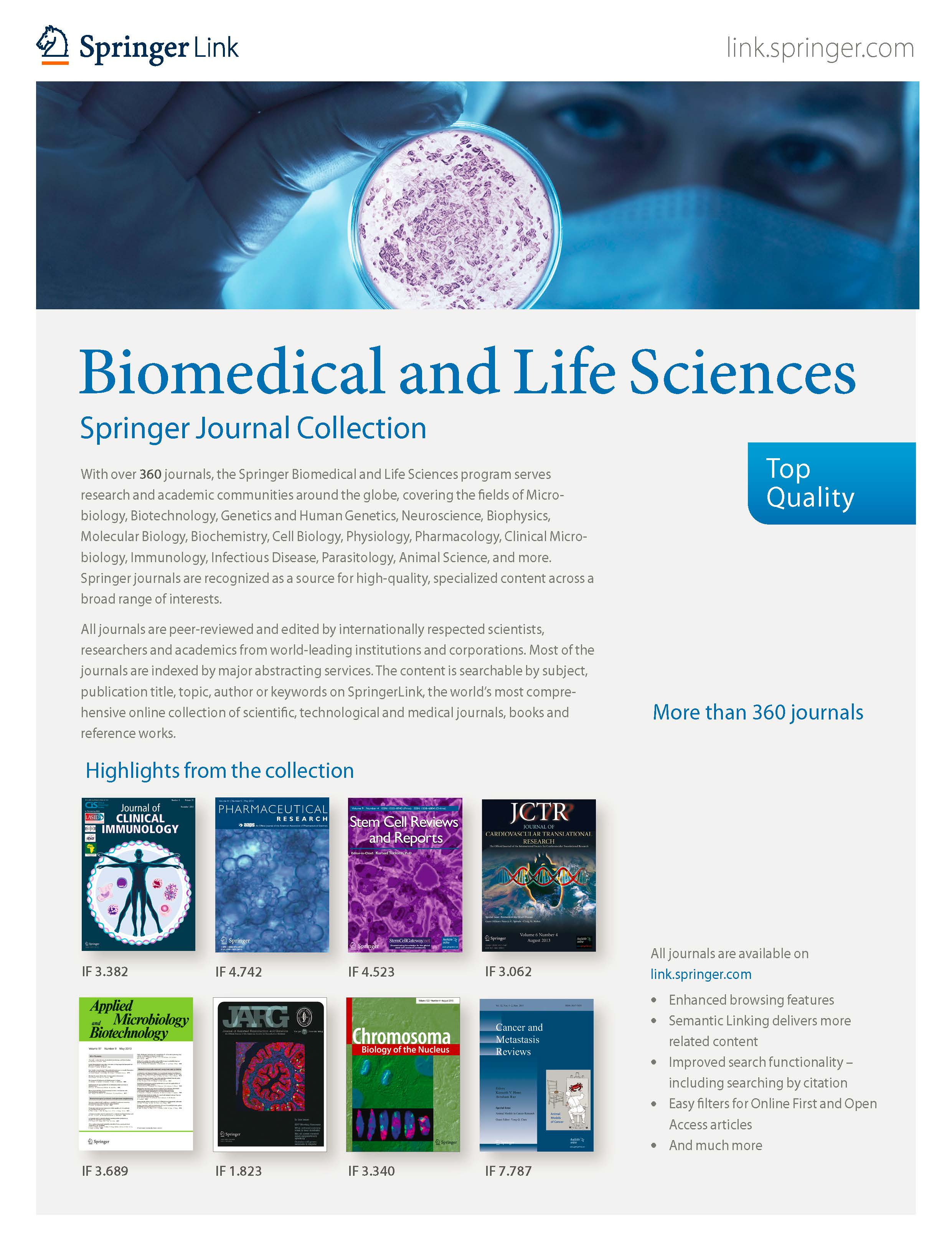 Biomedical & Life Sciences
