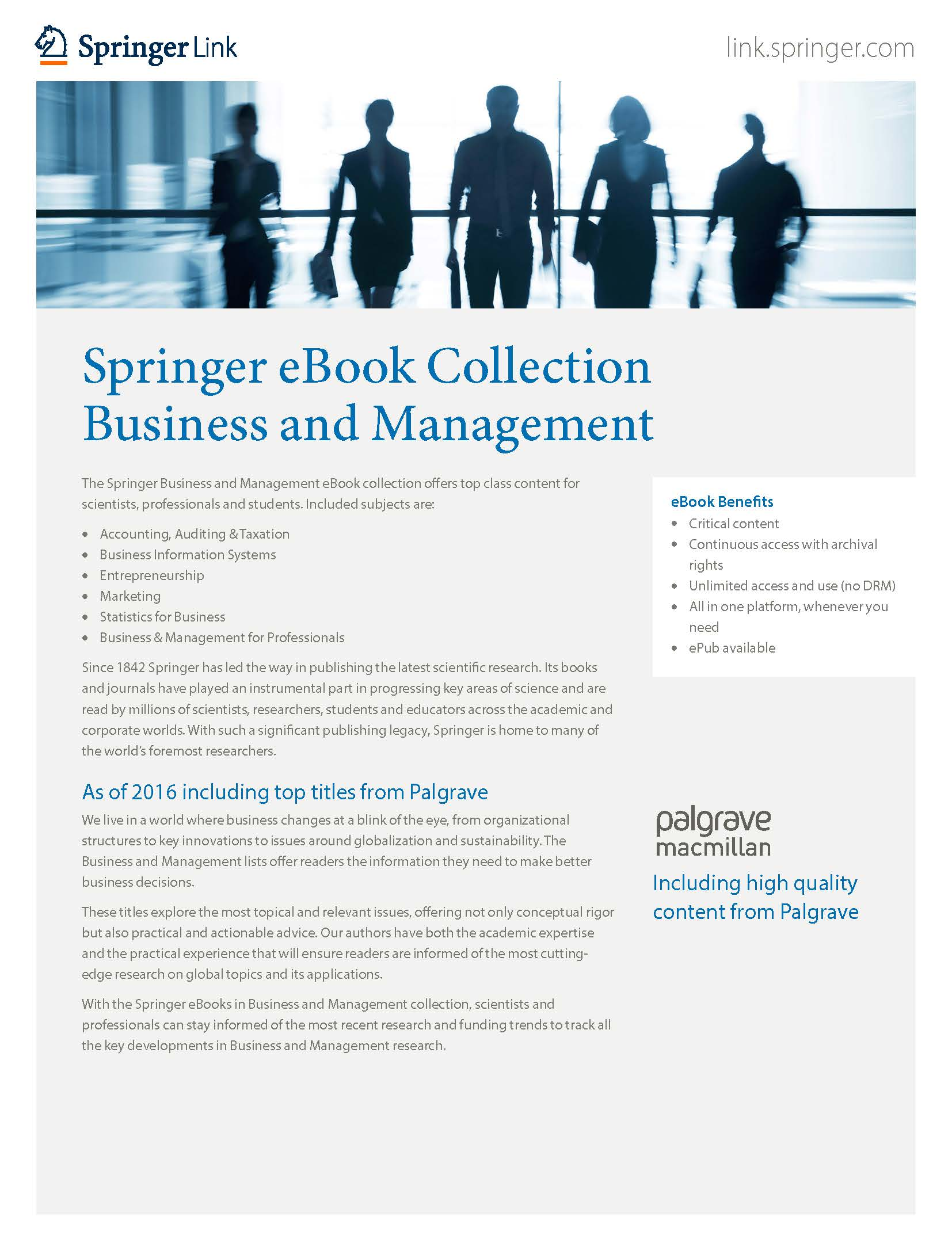 eBooks collection Business & Management