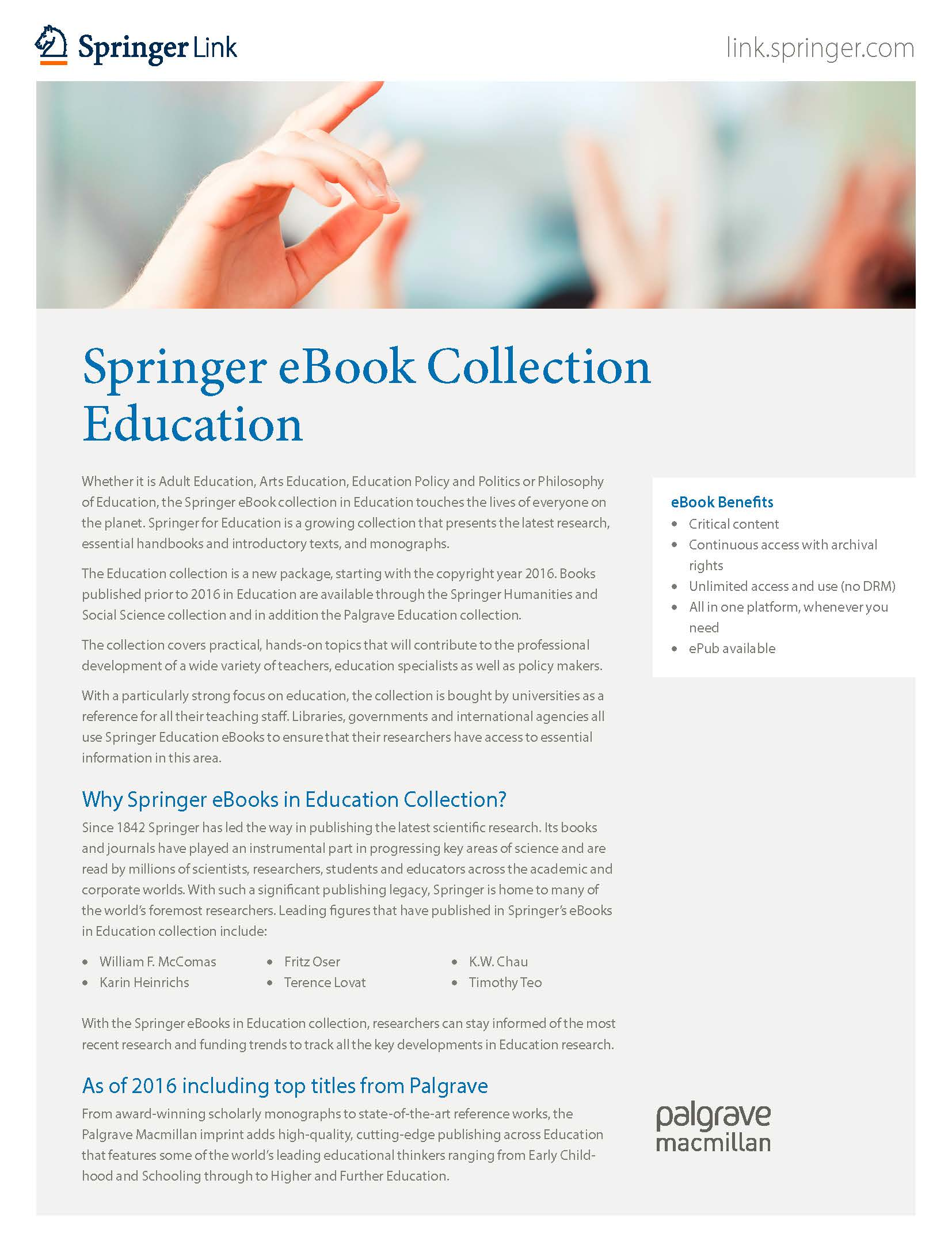 eBooks collection Education