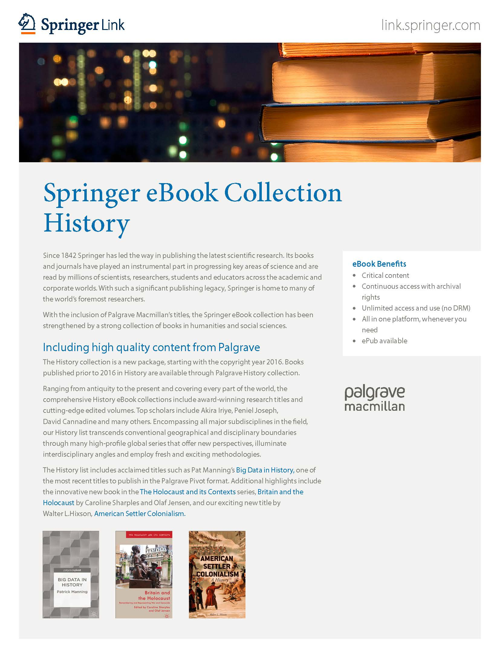 eBooks collection History