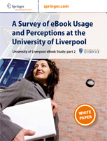 A Survey of eBook Usage and Perceptions at the University of Liverpool