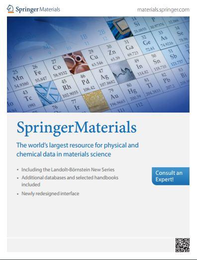 SpringerMaterials (Database)