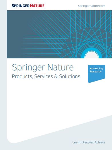 Productos Springer Nature