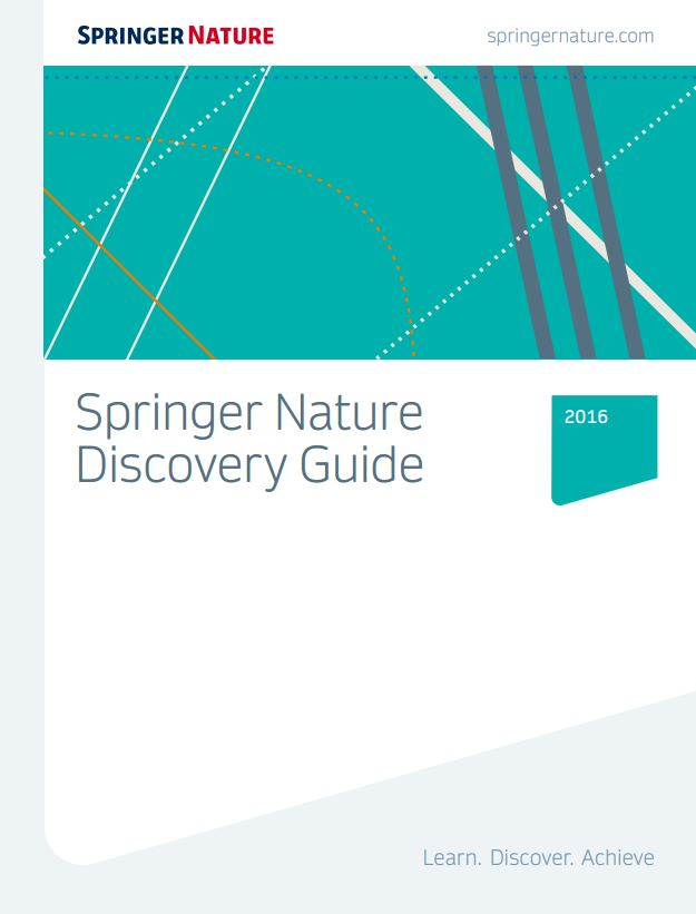 Springer Nature discovery guide