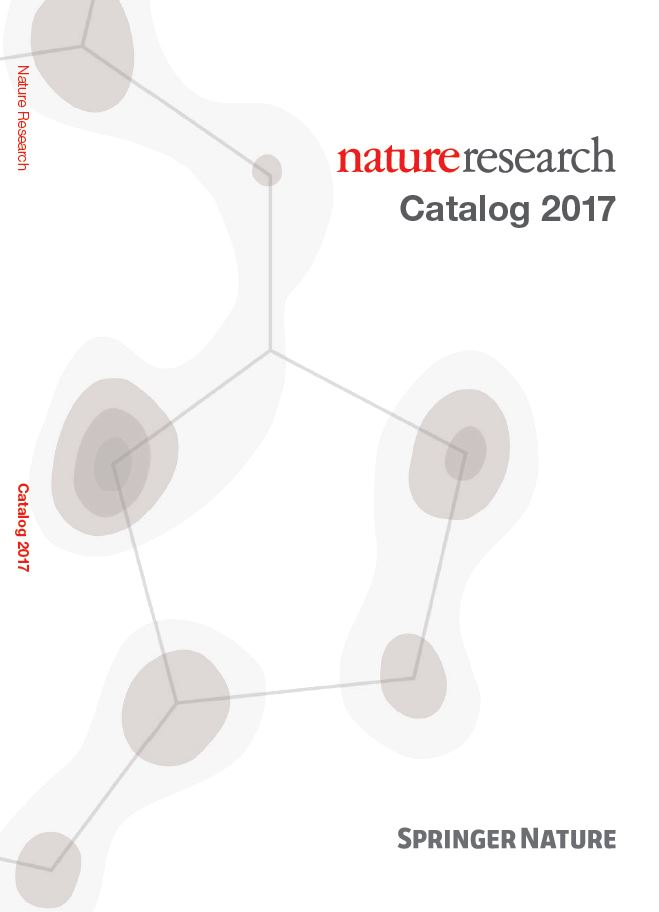 Nature Research Journals Catalog 2017