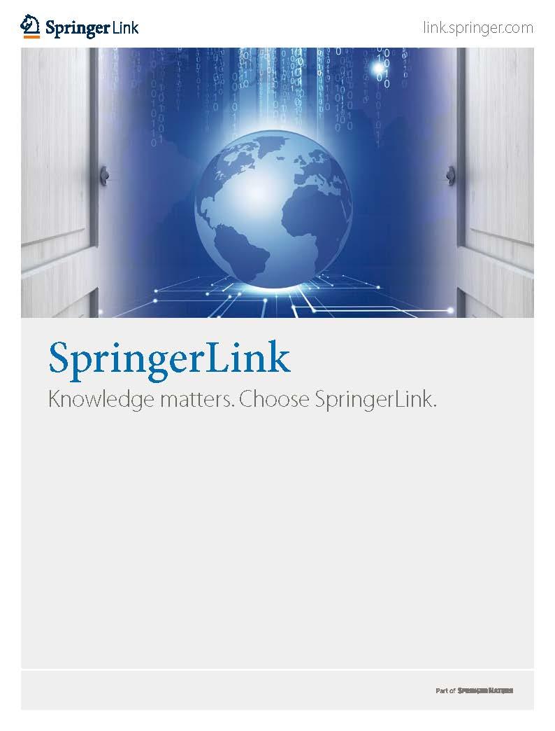 SpringerLink Brochure