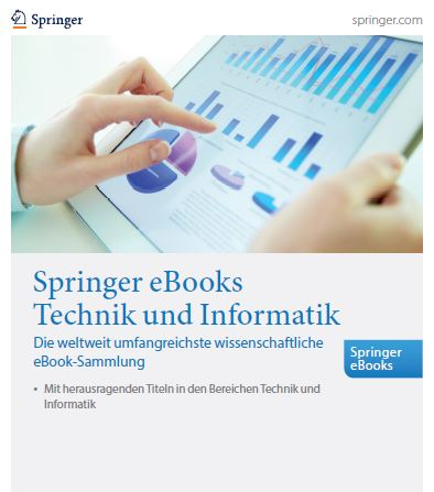 Springer eBooks-Kollektion Technik und Informatik