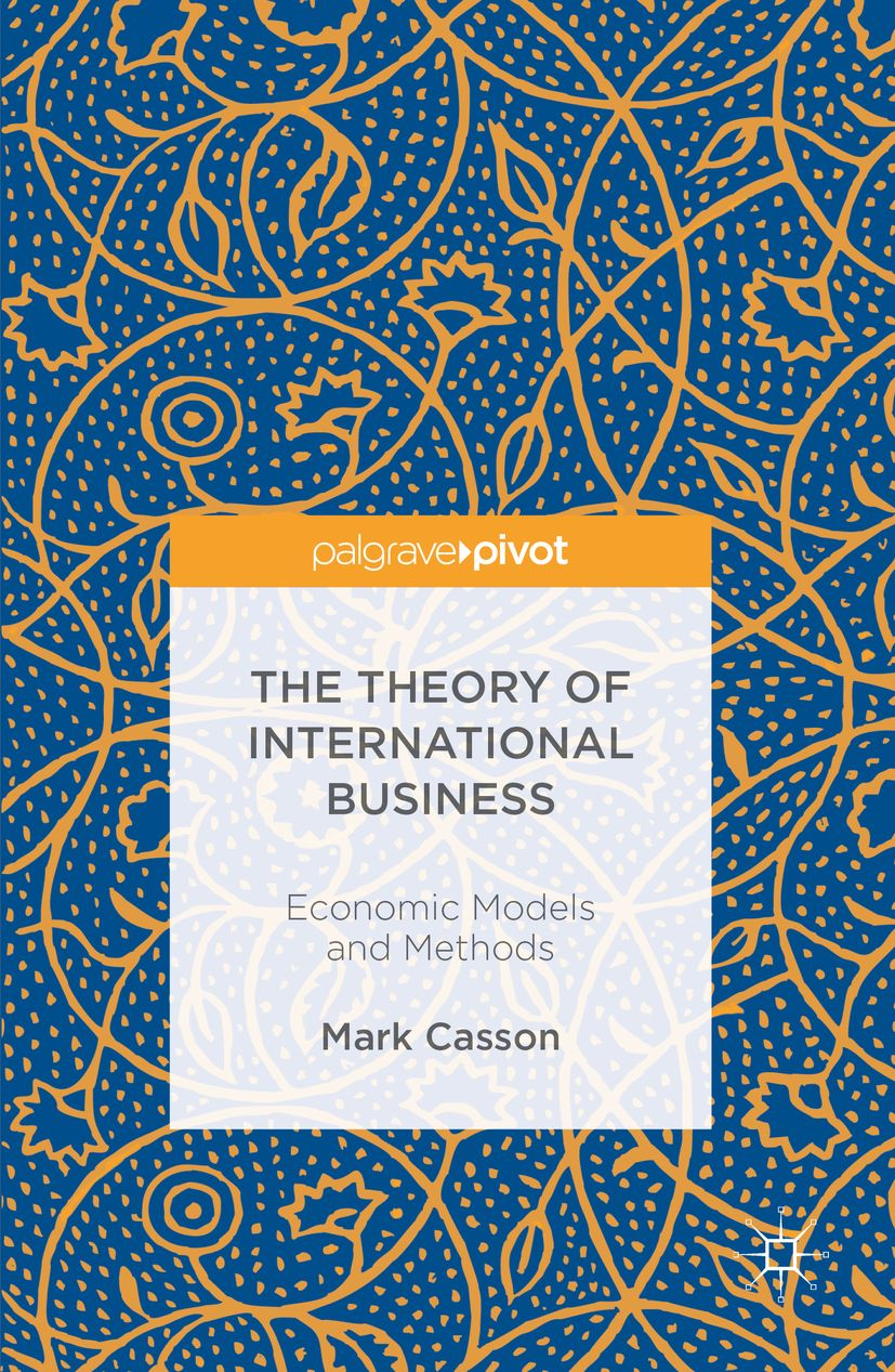 Book_The Theory of International Business