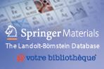 Bannière SpringerMaterials