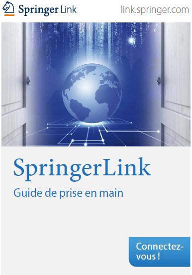 SpringerLink - Guide de prise en main