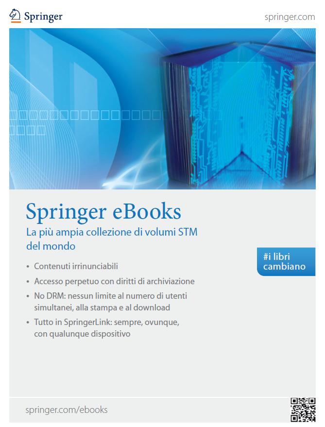 Springer eBooks - La più ampia collezione di volumi STM del mondo