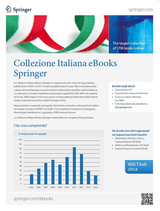 Collezione Italiana eBooks Springer