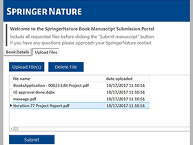 book manuscript submission portal