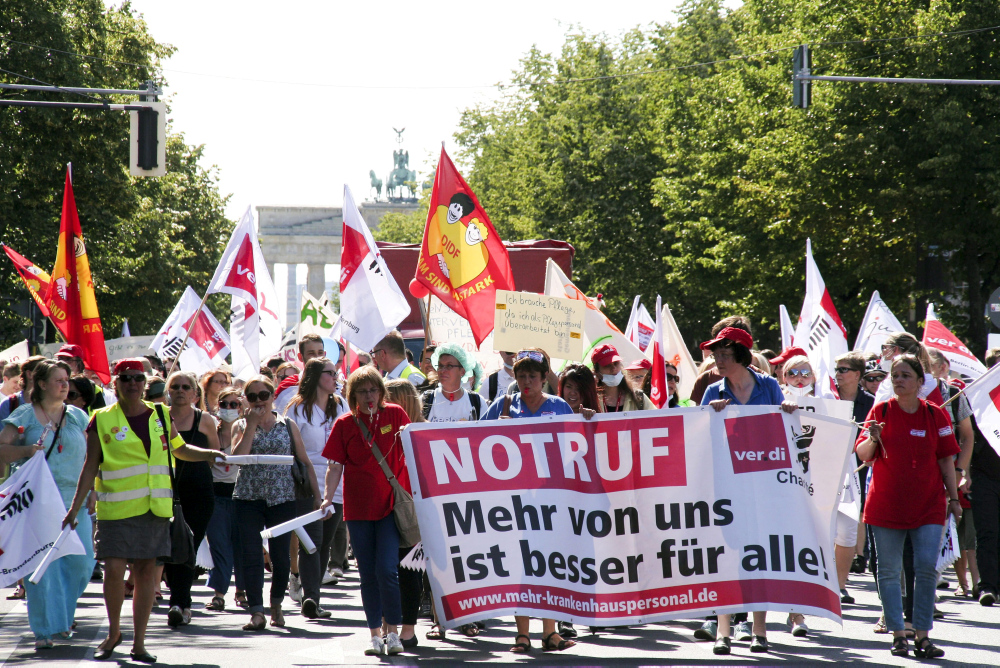 Demonstration (Symbolbild) © Geisler-Fotopress / Ellguth / dpa