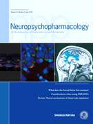 Neuropsychopharmacology © Springer