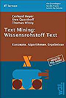 Text Mining - Wissensrohstoff Text
