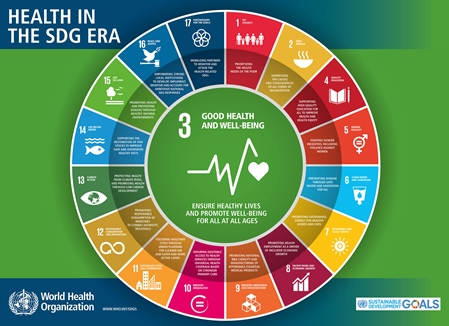 Health in the SDGs © Courtesy of the Alliance for Health Policy and Systems Research
