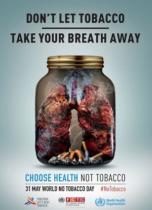 World No Tobacco Day at BMC © WHO