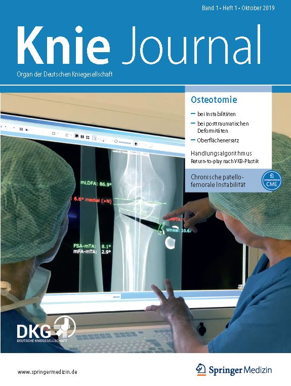 Das Knie-Journal