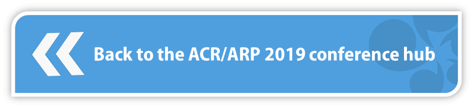 Back to the ACR/ARP 2019 conference hub