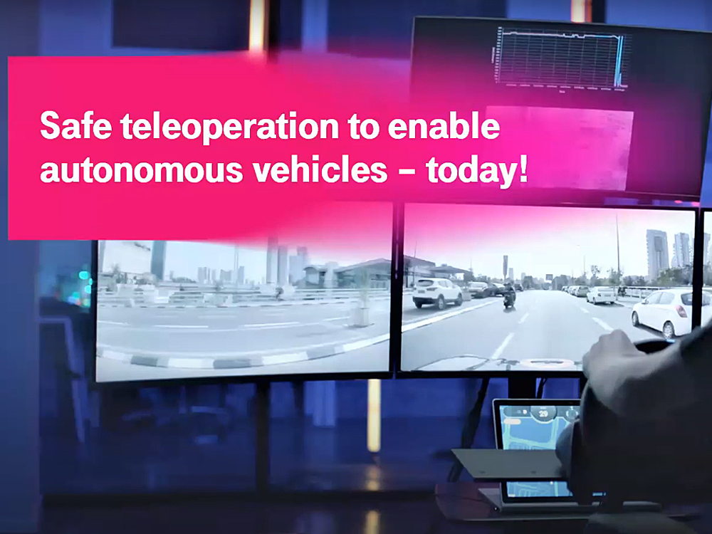 Teleoperated Driving © T-Systems