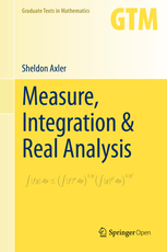 Measure Integration and Real Analysis