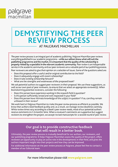 Demystifying the Peer Review Process