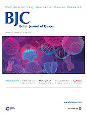 Academic Journal: British Journal of Cancer